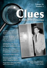 Clues: A Journal of Detection, Vol. 34, No. 2 (Fall 2016)