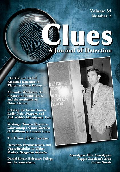 Clues A Journal Of Detection Vol 34 No 2 Fall 2016