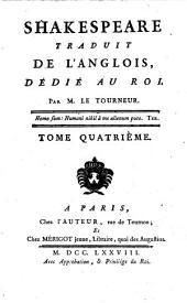 Shakespeare: Cymbeline, Romeo Et Juliette, Volume4