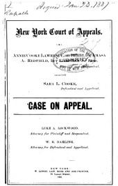 Court of Appeals: New York: 27