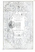 A Dictionarie of the French and English Tongves