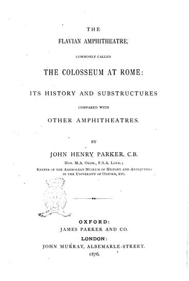 The Archaeology of Rome by John Henry Parker PDF