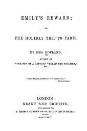 Emily's Reward, Or The Holiday Trip to Paris