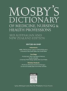 Mosby s Dictionary of Medicine  Nursing and Health Professions   Australian   New Zealand Edition   eBook PDF