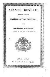 Arancel general para las aduanas marítimas y de frontera de la República Mexicana