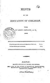 Hints on the education of children: Volume 14