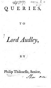 Queries to Lord Audley