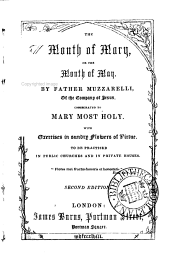 The month of Mary, or the month of May [tr. by J.B.M.].