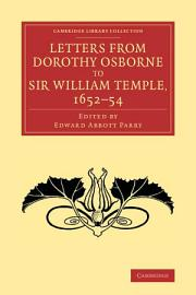 Letters from Dorothy Osborne to Sir William Temple  1652   54 PDF