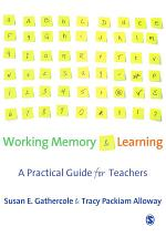 Working Memory and Learning
