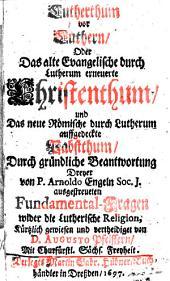 Lutherthum vor Luthern
