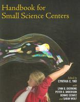 Handbook for Small Science Centers PDF