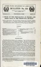 A Study of the Preparation of Frozen and Dried Eggs in the Producing Section PDF