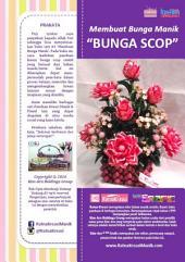 Membuat Bunga Manik: Bunga Scop