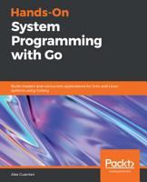 Hands On System Programming with Go PDF