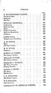 Specimens of American poetry, with critical and biographical notices: Volume 3