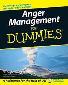 Anger Management For Dummies Book