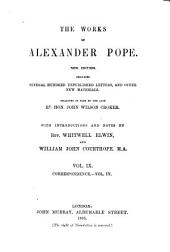 The Works of Alexander Pope: Volume 9