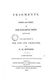 Fragments in Prose and Verse..., 1