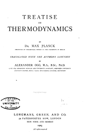 Treatise on Thermodynamics