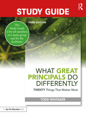 Study Guide  What Great Principals Do Differently PDF