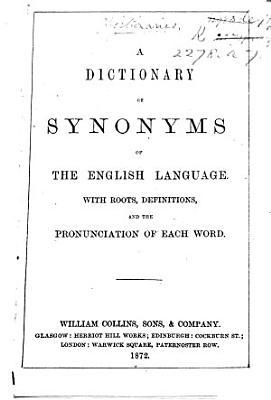 A dictionary of synonyms of the English language  etc PDF
