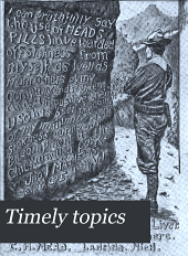 Timely Topics: Volume 6