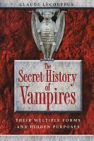 The Secret History of Vampires PDF