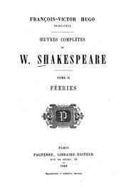 François-Victor Hugo, trad. Oeuvres complètes de W. Shakespeare: Volume2