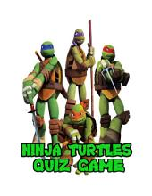 Ninja Turtles Quiz Game