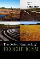 The Oxford Handbook of Ecocriticism PDF