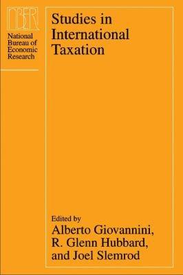 Studies in International Taxation