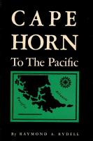Cape Horn to the Pacific PDF