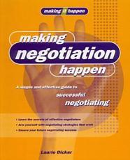 Making Negotiation Happen PDF