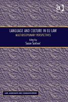 Language and Culture in EU Law PDF