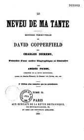 Le Neveu de ma tante, histoire personnelle de David Copperfield