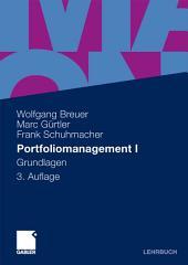 Portfoliomanagement I: Grundlagen, Ausgabe 3