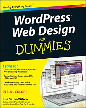 WordPress Web Design For Dummies PDF
