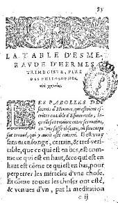 Le miroir d'alquimie de Iean de Mehun ...: traduit de Latin en François