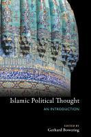 Islamic Political Thought PDF