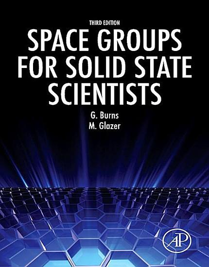 Space Groups for Solid State Scientists PDF