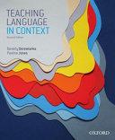 Teaching Language in Context
