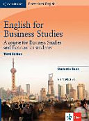 English for Business Studies   Third Edition  Student s Book PDF