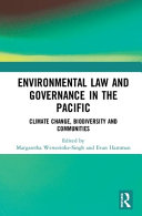 Environmental Law and Governance in the Pacific PDF