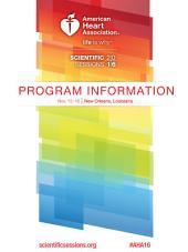 AHA Scientific Sessions 2016: Program Information