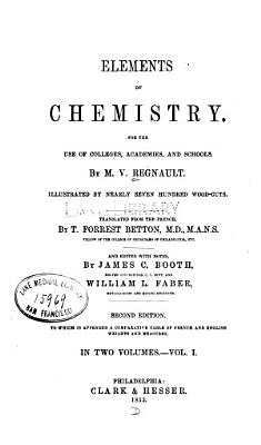 Elements of chemistry v  1 PDF