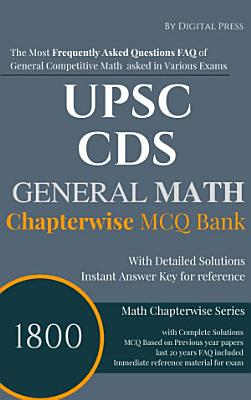Math Chapterwise Solved Questions UPSC CDS PDF