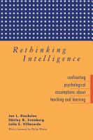 Rethinking Intelligence PDF