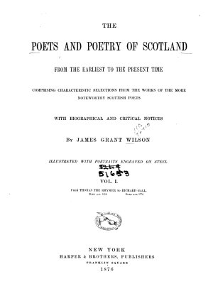 The Poets and Poetry of Scotland PDF