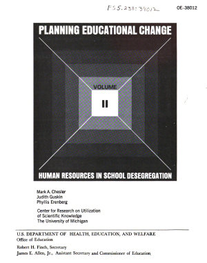 Human Resources in School Desegregation PDF